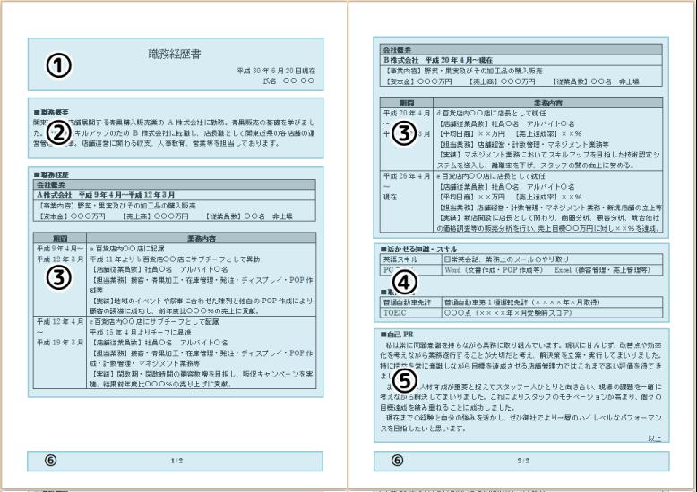応募書類作成支援コーナー|人材サービスのシー・エイチ・エス